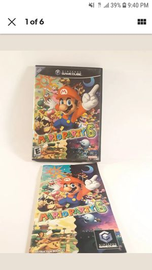 MARIO PARTY 6 - Nintendo GameCube With Original Case & Manual EXCELLENT!!! for Sale in Los Angeles, CA