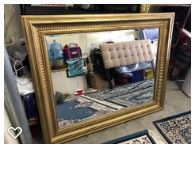 Golden mirror like new for Sale in San Diego, CA