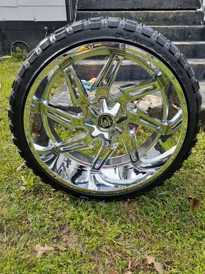 """26"""" Hardcore Off Road Wheels for Ford 8 Lug truck or SUV for Sale in North Chesterfield, VA"""
