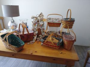 Authentic Longaberger Baskets for Sale in New Port Richey, FL