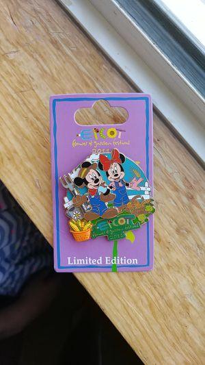 Epcot /Disney limited edition pin for Sale in Oak Glen, CA