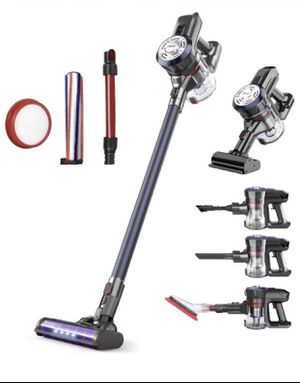 Brand new Cordless Stick Vacuum Cleaner 250W Powerful Suction Bagless Lightweight Rechargeable 5 in 1 Handheld Car Vacuum for Carpet Hard Floor, Nav for Sale in New Windsor, NY