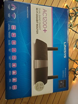 Linksys AC1200+ gigabit router for Sale in Vancouver, WA