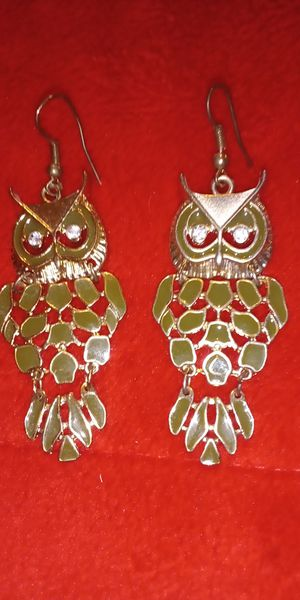 Nice beautiful owl earrings $10 for Sale in Norfolk, VA