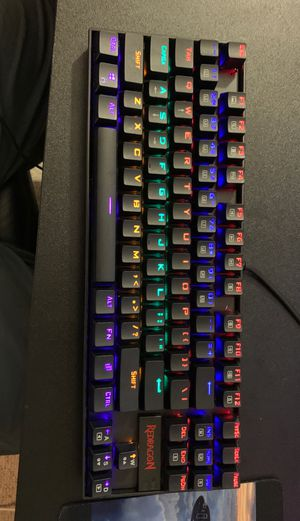 Red dragon mechanical keyboard and gaming mouse ga for Sale in Carson, CA