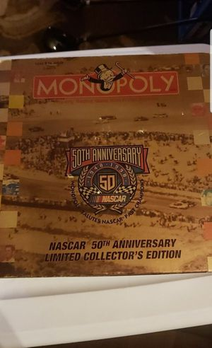 Monopoly nascar edition for Sale in Federal Way, WA