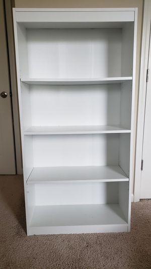 4 Shelf Bookcase (White) for Sale in Cumming, GA