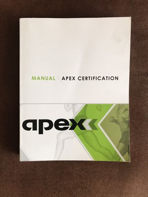Apex Certification Textbook for Sale in Chandler, AZ