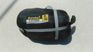 Eureka! Kaycee size regular 0° sleeping bag for Sale in West Palm Beach, FL