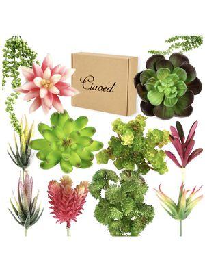 12 pcs Artificial succulent plants for Sale in Guadalupe, AZ