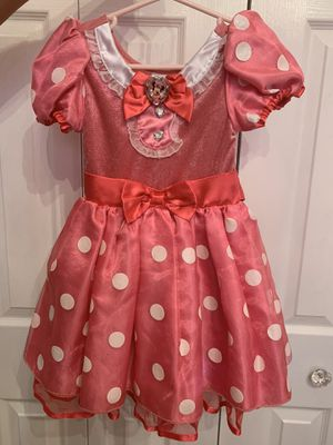 Disney store Minnie Mouse Halloween costume 4T for Sale in Hialeah, FL