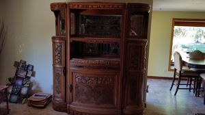 EARLY 1800-mid 1800 ANTIQUE CHINA CABINET- Rare one of a kind China cabinet for Sale in Boring, OR