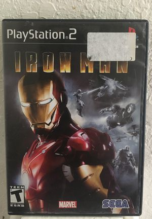 Ps2 Iron Man the game for Sale in Wahneta, FL
