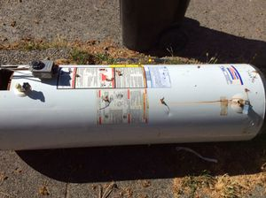 Free hot water heater for scrap 720 N 80th Seattle 98103 for Sale in Seattle, WA