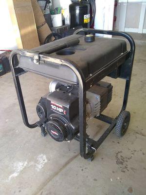Coleman powermate 5000 maxa ER plus portable electric generator for Sale in Glendale, AZ