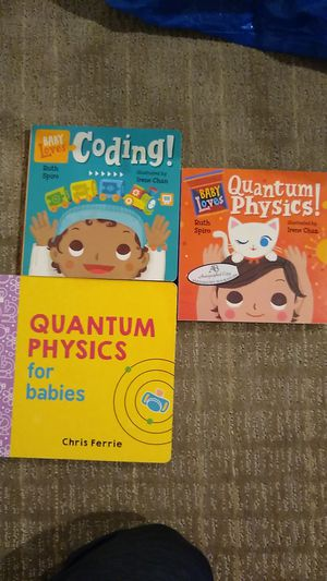 Baby Loves science books by Irene Chan and Chris Ferrie for Sale in Seattle, WA