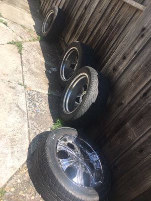 Tires and rims for Sale in Santa Clara, CA