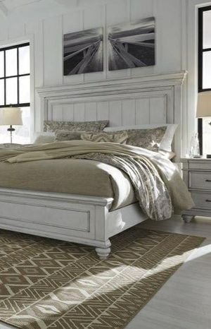 🆕Best Deal♨️Same Day Delivery.🍃Black Friday Sale‼️Kanwyn Whitewash Panel Bedroom Set for Sale in Columbia, MD