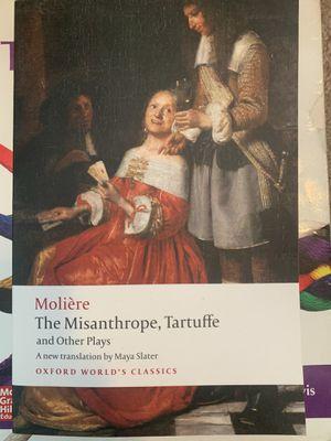 The Misanthrope, Tartuffe. Book for Sale in Auburn, WA