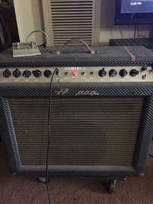 Rare '60's ampeg gemini 1 all tube combo. for Sale in Hayward, CA