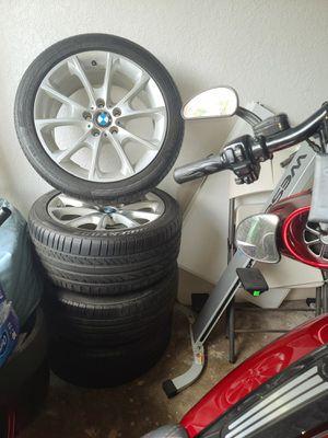 BMW 18' Rim & Tire 255/40r18 for Sale in Miami, FL