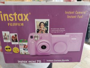 New Instax Camers bundle, camera , case ,film, picture holder $75 for Sale in Henderson, NV