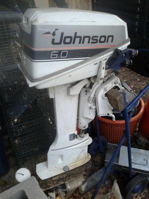 Johnson outboard 6 horse motor for Sale in Berlin, NJ