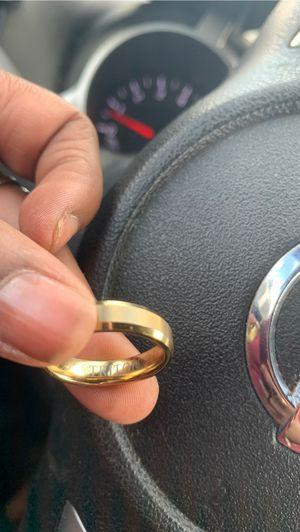 Tungsten Ring in Gold for Sale in Chesapeake, VA