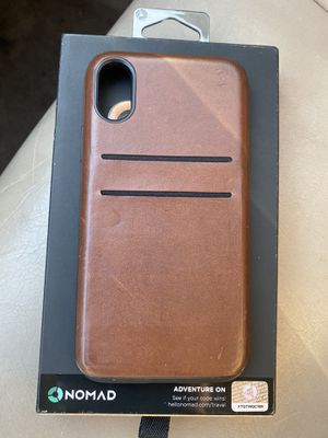 Nomad leather card case iPhone X/XS for Sale in Gaithersburg, MD