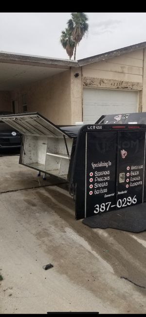 Camper tool box for small truck for Sale in Las Vegas, NV