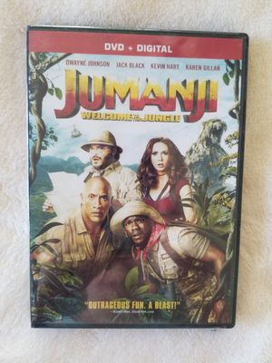 Jumanji - Welcome to the Jungle DVD & Digital for Sale in North Las Vegas, NV