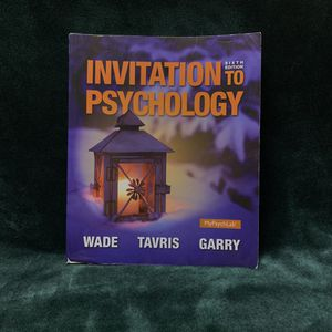 Invitation to Psychology: Sixth Edition for Sale in Los Angeles, CA