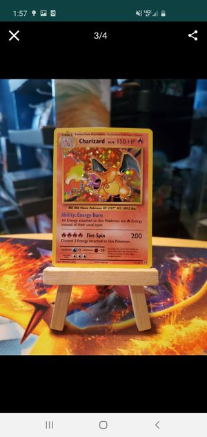 Charizard Base Set Pokemon Card *REPRINT* for Sale in Rutherford, NJ