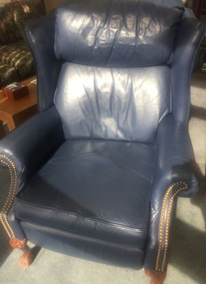 Leather reclining chair by Lane for Sale in West Palm Beach, FL
