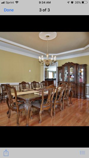 Bernhardt furniture - dining set & China for Sale in Chantilly, VA