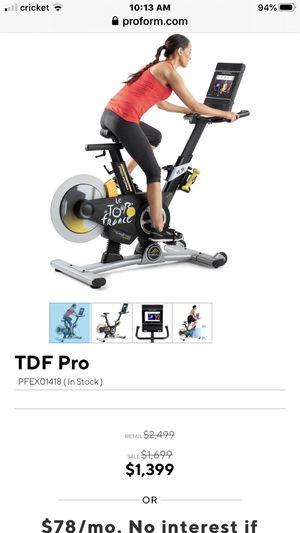 Pro form Le Tour De France exercise bike for Sale in Allen Park, MI
