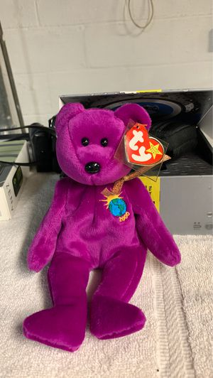 Limited Edition Millenium 2000 Beanie Baby for Sale in Trenton, NJ