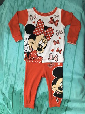 NEW Infant Baby Girls Disney Minnie Mouse Pajamas for Sale in Garden Grove, CA