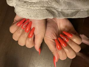 Practicing doing gel x for Sale in Fontana, CA