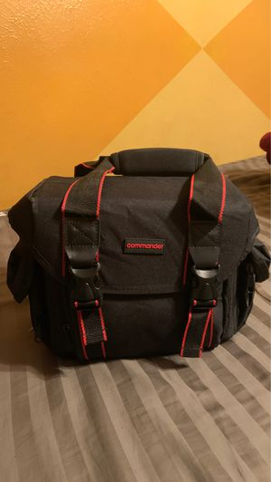Dlsr Camera Bag with extras for Sale in Irving, TX