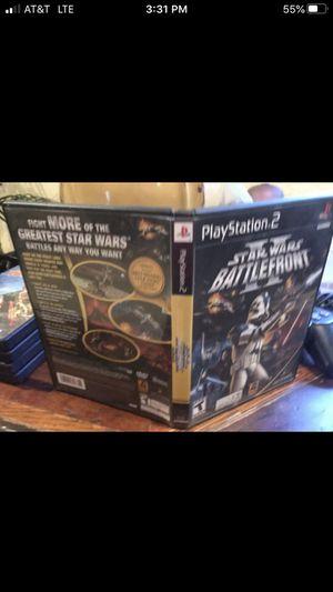 Star Wars Battlefront 2 PS2 Game for Sale in Oakland Park, FL