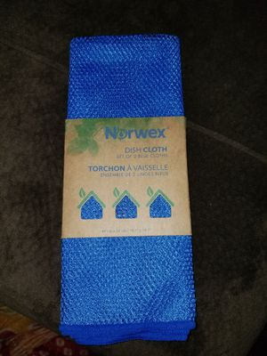 Norwex new Dish Cloth set of 2 for Sale in Chandler, AZ