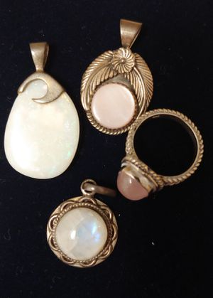 Rose quartz and Sterling silver jewelry for Sale in Lake Wales, FL