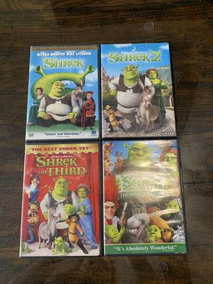 Disney Shrek movies for Sale in Pinellas Park, FL