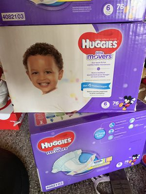 Two huggies little mover box's for Sale in Hanford, CA
