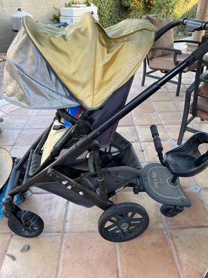 UPPABABY YELLOW STROLLER WITH DETACHABLE CHAIR!!!! for Sale in Chino, CA