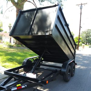 BRAND NEW DUMP TRAILER8X12X4 HEAVY DUTY 12000 LBS for Sale in Los Angeles, CA