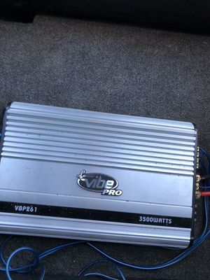 Lanzar Vibe Pro VBP261 3500WATTS amplifier for Sale in Fresno, CA