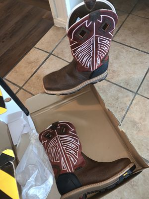 Justin work boots for Sale in Dallas, TX