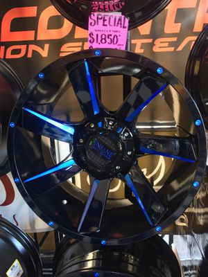 Rims For Truck With Tires Included 🥳 for Sale in Las Vegas, NV
